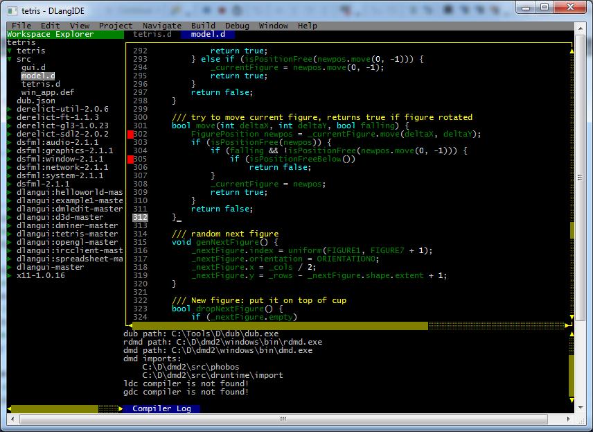 Package dlangide version 0 8 6 - DUB - The D package registry